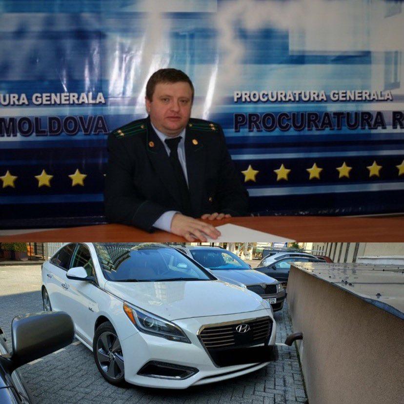 """EXCLUSIV// FOTO// Interese ale conducătorilor """"INTEGRI"""" ai Procuraturii Generale: Declară un automobil de 5 mii euro, dar conduce altul de 25 mii. Vezi cine este procurorul"""